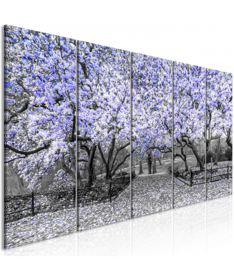 Tableau - Magnolia Park (5 Parts) Narrow Violet