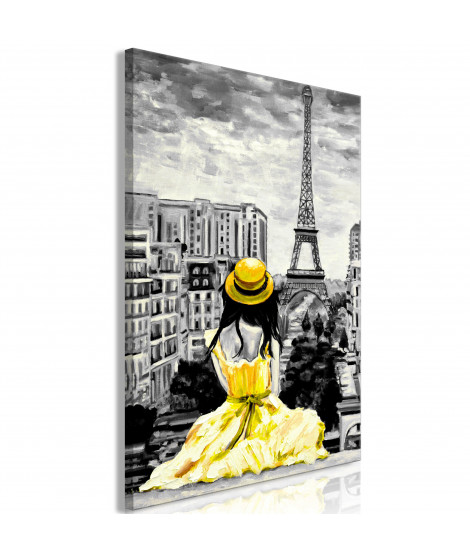 Tableau - Paris Colour (1 Part) Vertical Yellow