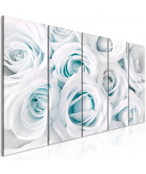 Tableau - Satin Rose (5 Parts) Narrow Turquoise