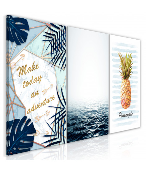 Tableau - Pineapple Quote (3 Parts)
