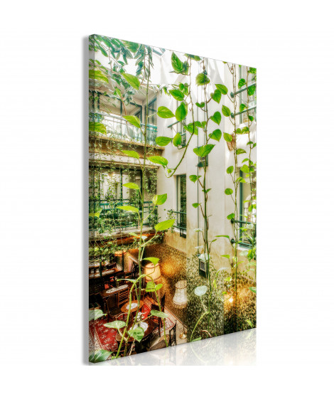 Tableau - Cracow: Cafe with Ivy (1 Part) Vertical