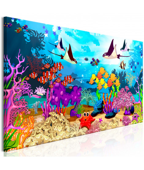 Tableau - Underwater Fun (1 Part) Narrow