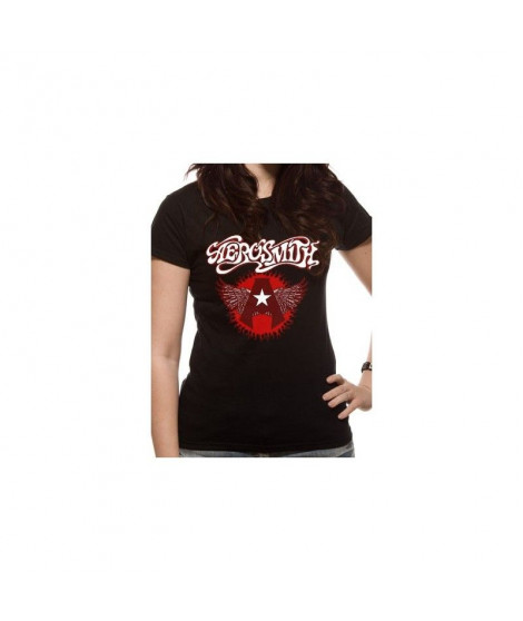 T-shirt femme AEROSMITH flying A