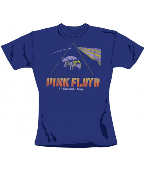T-shirt femme PINK FLOYD Animals Tour Flying