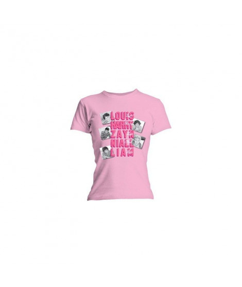 T-shirt femme ONE DIRECTION Names