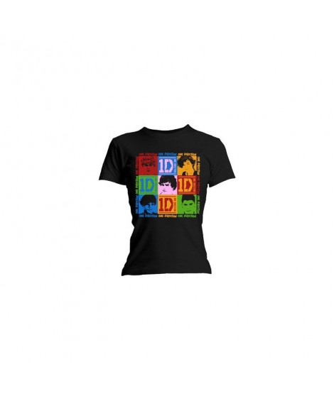 T-shirt femme ONE DIRECTION  9 Blocks