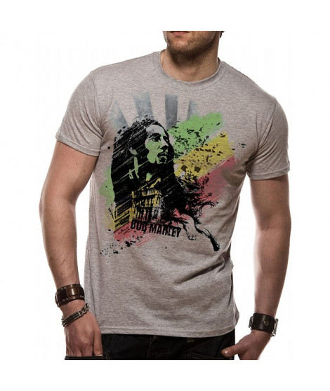 T-shirt BOB MARLEY buffalo soldier limited edition