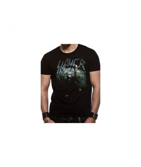 T-shirt SLAYER soldier cross