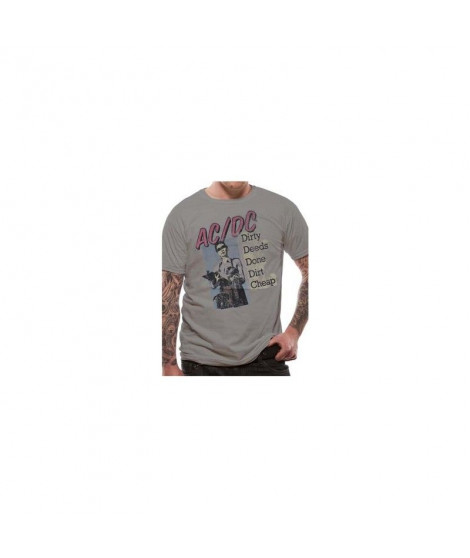 T-shirt  ACDC DIRTY DEEDS DONE CHEAP