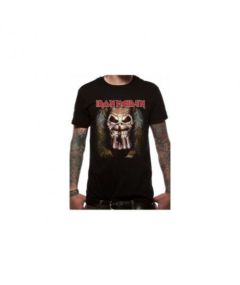 T-shirt Iron Maiden - EDDIE CANDLE FINGER