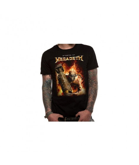 T-shirt MEGADETH - ARSENAL