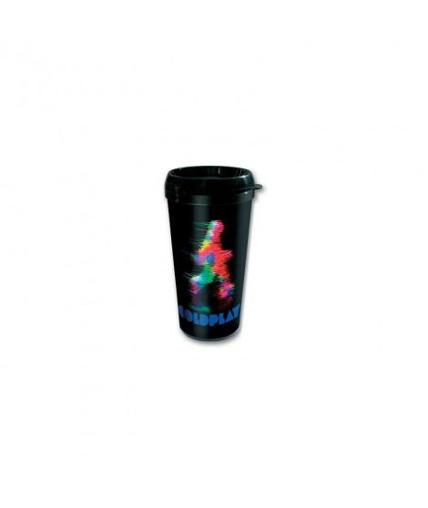 Travel mug Coldplay Fuzzy Man