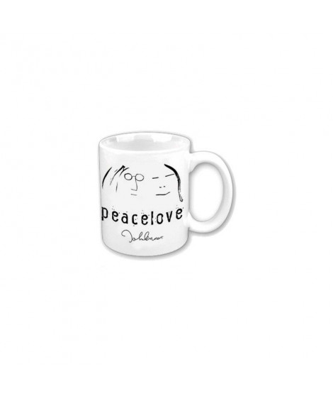Mug JOHN LENNON Peace AND love