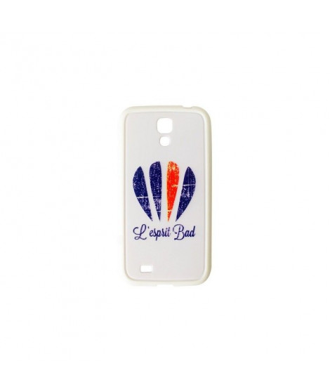 Coque Galaxy S4 logo badminton