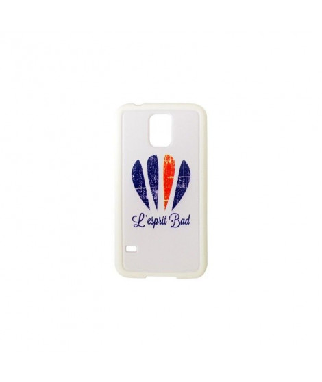 Coque Galaxy S5 logo badminton