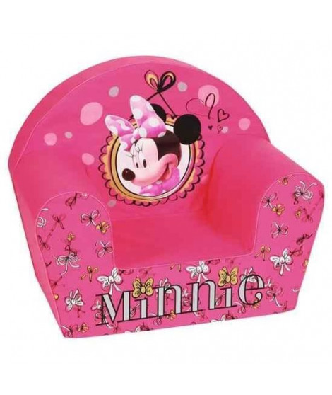 MINNIE Fauteuil Club Fashionista Rose - Disney Baby