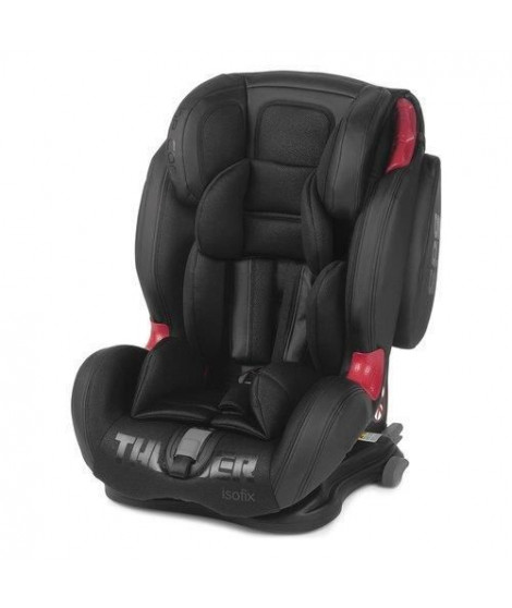 BE COOL Siege auto Thunder Crown Groupe 1/2/3 - Noir