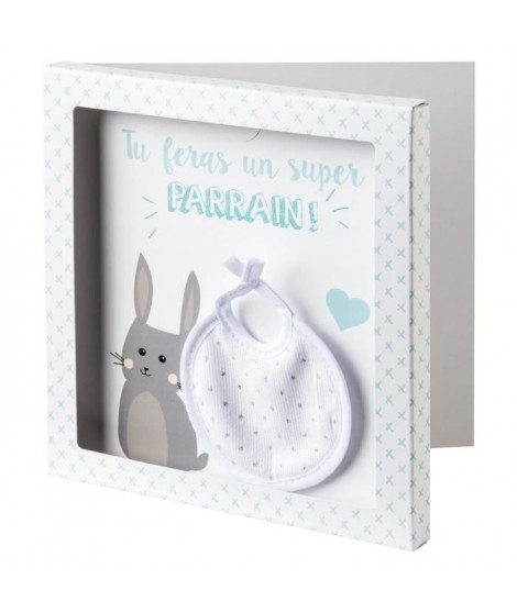 BABYCALIN Carte surprise + Enveloppe Parrain