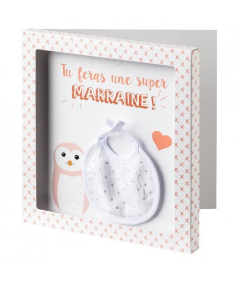 BABYCALIN Carte surprise + Enveloppe Marraine