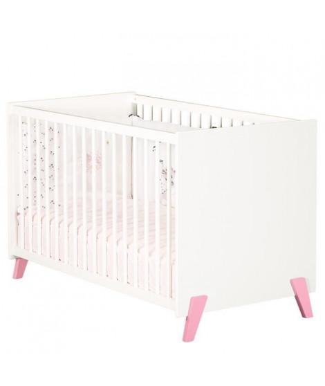Babyprice - JOY ROSE - Lit Bébé 120 x 60