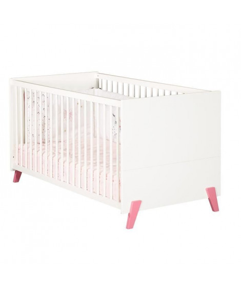 Babyprice - JOY ROSE - Lit Evolutif Little Big Bed 140x70