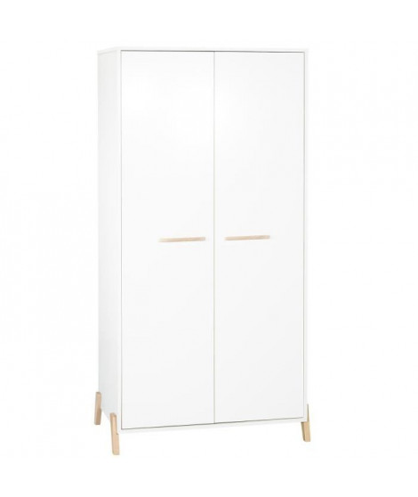 Babyprice - JOY NATUREL - Armoire 2 Portes