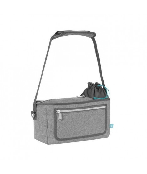 BABYMOOV Organisateur de Poussette Universel Stroller Bag Smokey