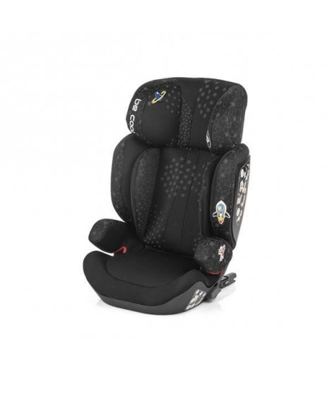 BE COOL Siege auto Tornado groupe 2/3 Isofix Be galaxy - noir