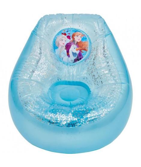 DISNEY FROZEN Fauteuil poire gonflable La Reine des Neiges - Pour enfants - Bleu