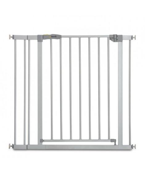 HAUCK Barriere de sécurité enfant Stop'n Safe 2 + extension 9 cm - Gris