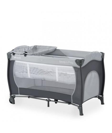 HAUCK Lit Parapluie Sleep N Play Center avec plan a langer - Stone