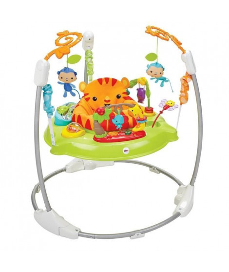 FISHER-PRICE - Sauteur Jumperoo Jungle - Sons & Lumieres