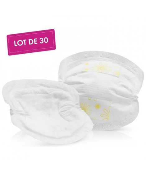 MEDELA Safe & Dry Coussinets d'allaitement ultra-absorbants a usage unique x30