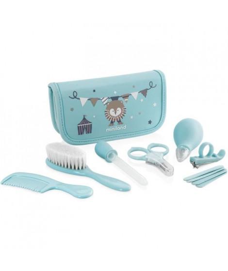 MINILAND - Baby kit azure - Trousse complete pour le soin et l'hygiene de bébé