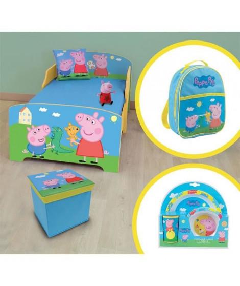 CIJEP PEPPA PIG Pack chambre complete - 6 éléments