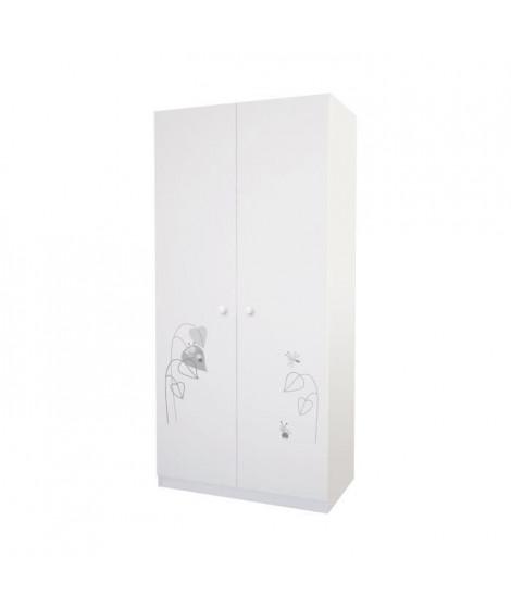 POLINI Ami Zen armoire 2 portes - blanc
