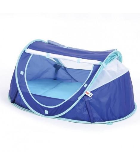 LUDI Tente Lit Nomade Pop-Up Bleue