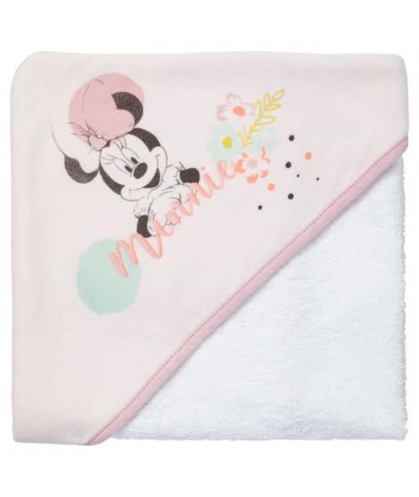 DISNEY BABY  Minnie Cape de bain 80 x 80 cm