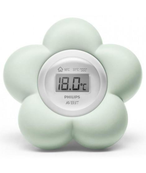PHILIPS AVENT SCH480/00 Thermometre de bain numérique bébé - Vert