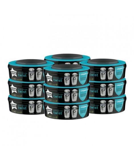 Tommee Tippee - Recharges poubelles Twist & Click x12 - Compatibles avec Bac TEC