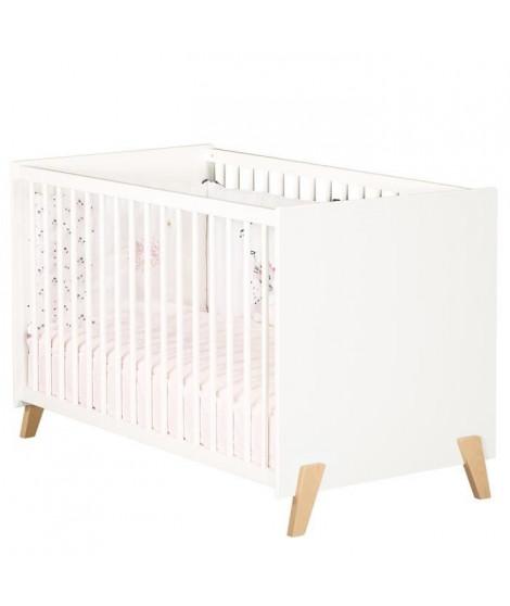 Babyprice - JOY NATUREL - Lit Bébé 120 x 60