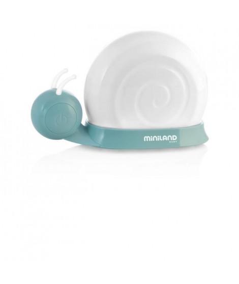 MINILAND BABY Veilleuse escargot Snailight  - 8 couleurs au choix