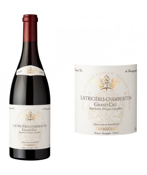 Jean Bouchard 2009 Latricieres Chambertin Grand Cru - Vin rouge de Bourgogne