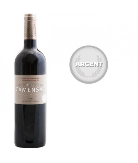 La Closerie de Camensac 2012 Haut Médoc - Vin rouge de Bordeaux