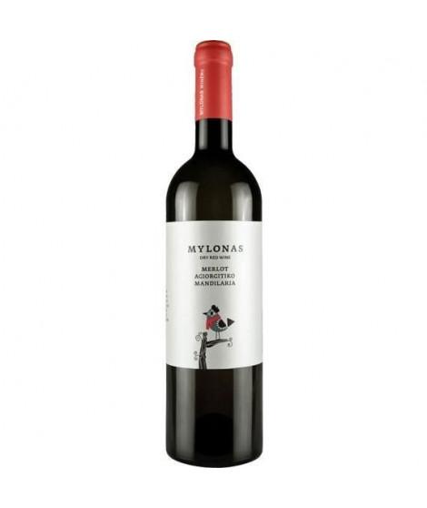 Mylonas Merlot Agiorgitiko Mandilaria -  Vin rouge de Grece