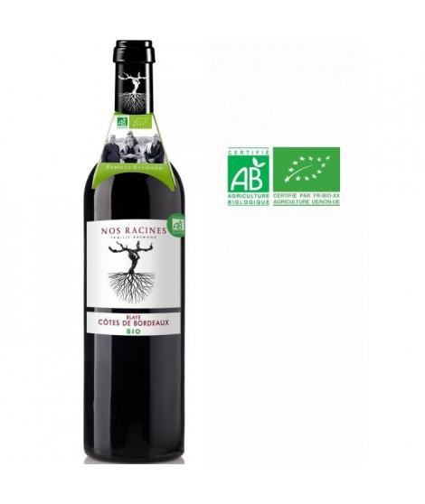 Nos Racines 2018 Blaye Côtes de Bordeaux - Vin rouge de Bordeaux - Bio