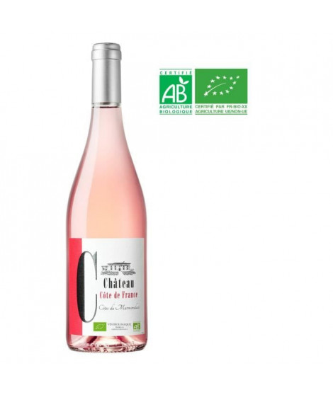 Château Côte de France Bio 2018 Cotes Du Marmandais - Vin Rosé du Sud-Ouest