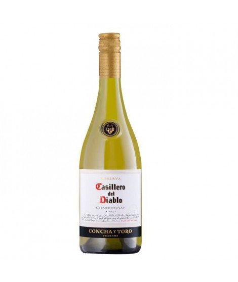 Concha Y Toro Casillero Del Diablo 2018 Chardonnay - Vin blanc du Chili