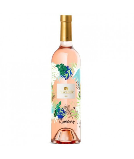 Rumeurs 2019 Méditérannée - Vin rosé de Provence
