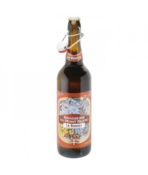 MONT BLANC Biere Rousse  0,75 L